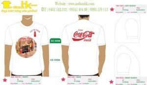 Áo Phông Du Lịch Cocacola Team Tây Hồ