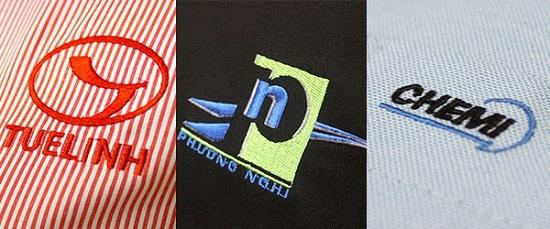 theu logo ao dong phuc